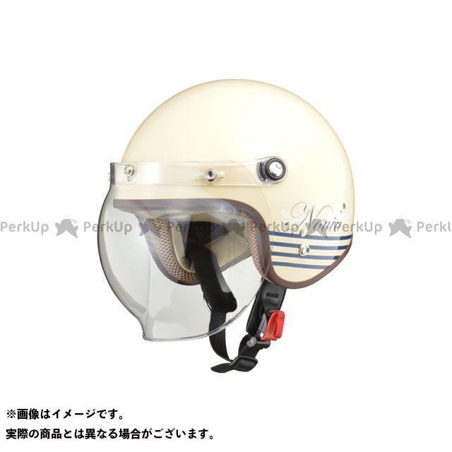 リード工業 NOVIA バブルシールド付ジェットヘルメット レディース LTER アイボリー LEAD工業