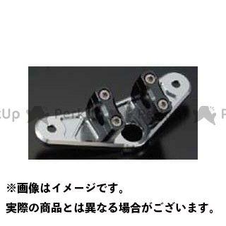 シフトアップ モンキー ビレットトップブリッジ ノーマルフォーク専用(ハイプハンドル用) カラー:ガンメタ SHIFTUP
