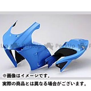シフトアップ NSF100 カウル・エアロ GPライン ロングシートカウル(ホワイトゲルコート仕上げ)