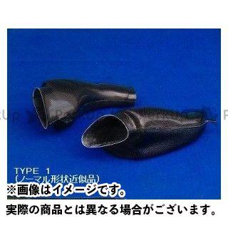 クレバーウルフ GSX-R1000 GSX-R600 エアーダクト・タイプ1 材質:カーボンFRP CLEVERWOLF