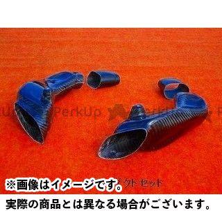 クレバーウルフ GSX-R1000 エアーダクト 材質:カーボン綾織 CLEVERWOLF