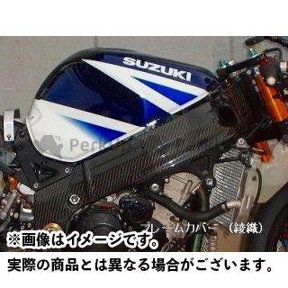 クレバーウルフ GSX-R1000 フレームカバー 材質:カーボン平織 CLEVERWOLF