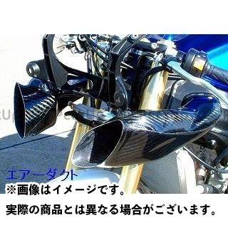 クレバーウルフ GSX-R600 エアーダクト 材質:カーボン綾織 CLEVERWOLF