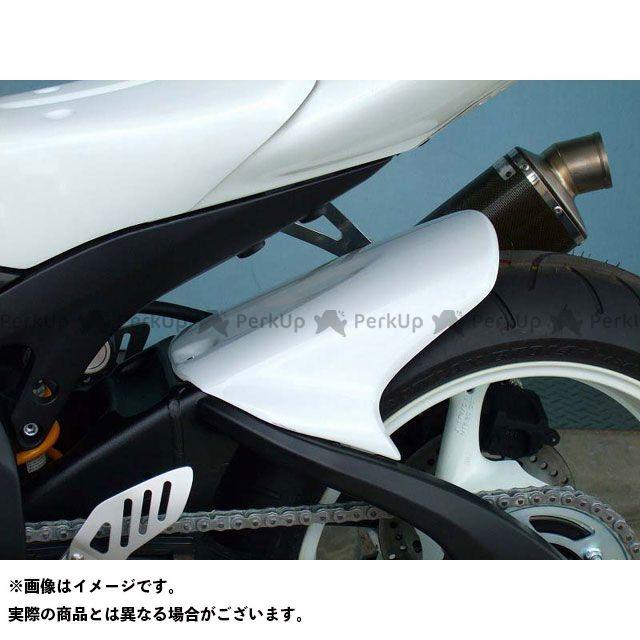 クレバーウルフ GSX-R600 リアフェンダー 材質:カーボン綾織 CLEVERWOLF
