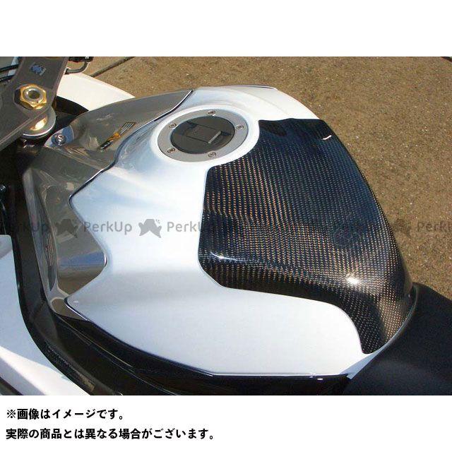 【エントリーで最大P21倍】クレバーウルフ GSX-R600 GSX-R750 タンクプロテクター 材質:カーボン綾織 CLEVERWOLF