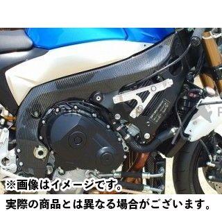 クレバーウルフ GSX-R1000 フレームカバー 材質:カーボン綾織 CLEVERWOLF