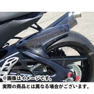 送料無料 クレバーウルフ GSX-R600 GSX-R750 フェンダー リアフェンダー カーボン綾織