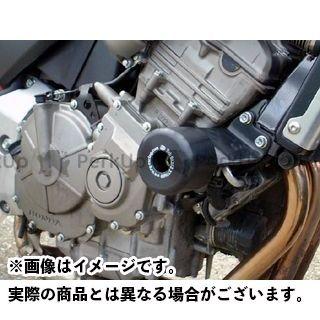 R&G CBF600 CBF600S ホーネット600 クラッシュプロテクター(ブラック) アールアンドジー