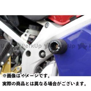 【エントリーで最大P21倍】R&G CBR900RRファイヤーブレード クラッシュプロテクター カラー:ホワイト アールアンドジー