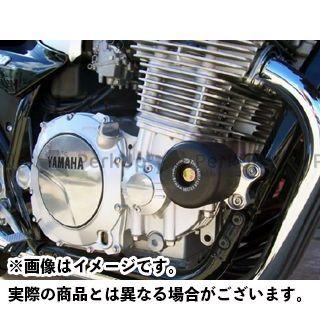 R&G XJR1200 XJR1300 クラッシュプロテクター(ブラック) アールアンドジー
