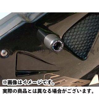 R&G VFR800 クラッシュプロテクター カラー:ブラック アールアンドジー