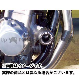 R&G CB1300スーパーフォア(CB1300SF) CB400スーパーボルドール クラッシュプロテクター カラー:ホワイト アールアンドジー