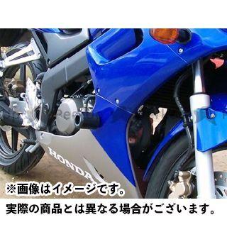 R&G CBR125R クラッシュプロテクター カラー:ホワイト アールアンドジー