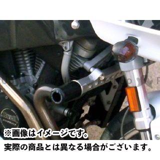 R&G ファイアーボルト XB12R ファイアーボルト XB9R ライトニング XB12S クラッシュプロテクター(ブラック) アールアンドジー