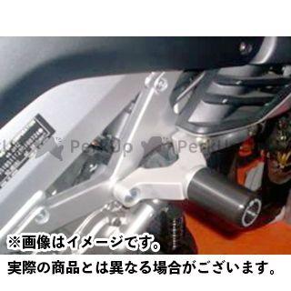 送料無料 R&G Vストローム1000 その他のモデル スライダー類 クラッシュプロテクター ブラック