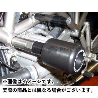 R&G ST4 ST4S クラッシュプロテクター(ブラック) アールアンドジー