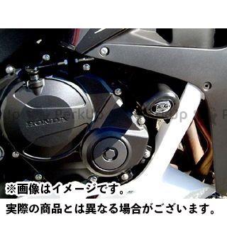 R&G CBR600RR クラッシュプロテクター カラー:ブラック アールアンドジー
