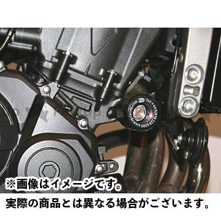 R&G CBF600F CBF600S ホーネット600 クラッシュプロテクター ブラック アールアンドジー