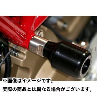 R&G ハイパーモタード1100S クラッシュプロテクター(ブラック) アールアンドジー