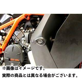 R&G 1190 RC8 エアロクラッシュプロテクター(ブラック) アールアンドジー