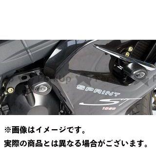 R&G スプリントGT スプリントST エアロクラッシュプロテクター(ブラック) アールアンドジー