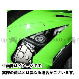 R&G ニンジャZX-10R エアロクラッシュプロテクター カラー:ホワイト アールアンドジー