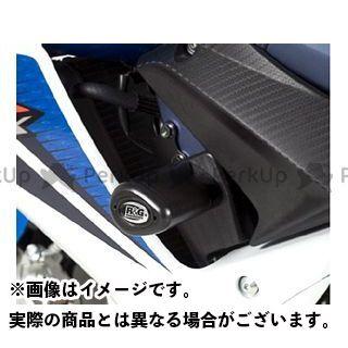 【無料雑誌付き】R&G GSX-R600 GSX-R750 エアロクラッシュプロテクター(ブラック) アールアンドジー