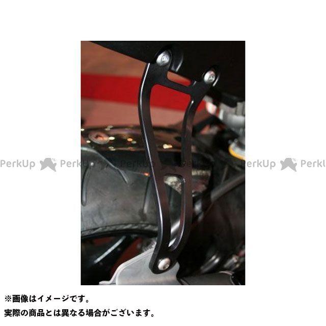 送料無料 R&G ニンジャZX-12R その他マフラーパーツ エキゾーストハンガー ブラック