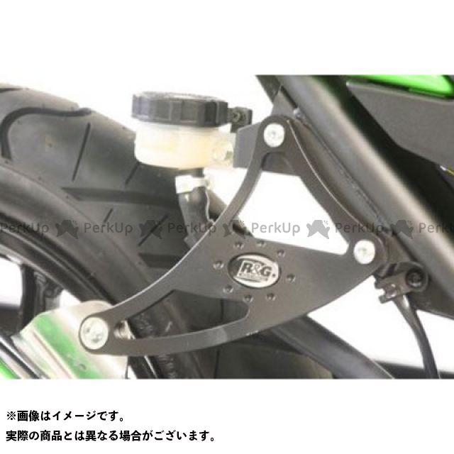 R&G ニンジャ250R エキゾーストハンガー(ブラック) アールアンドジー