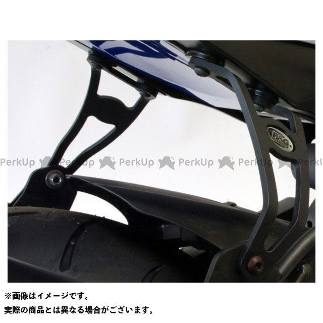 【無料雑誌付き】アールアンドジー GSX-R1000 エキゾーストハンガー 左右セット カラー:ブラック R&G
