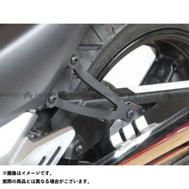 R&G GSR250 GSR400 エキゾーストハンガー(ブラック) 左右セット アールアンドジー