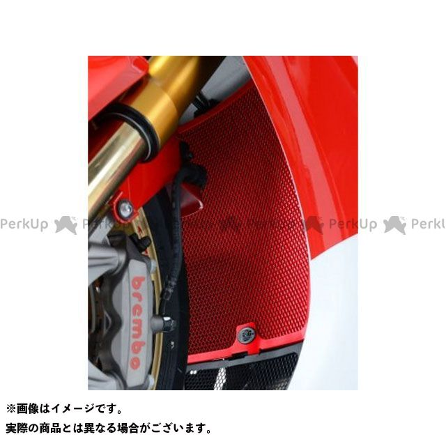 R&G CBR1000RRファイヤーブレード ラジエーターガード カラー:レッド アールアンドジー