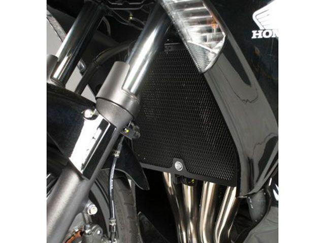 送料無料 R&G CBF1000 ラジエター関連パーツ ラジエターガード(ブラック)