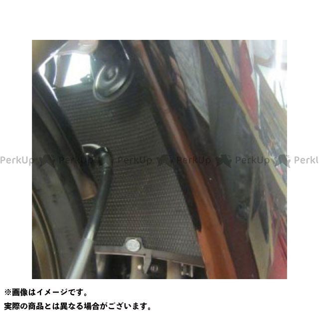 送料無料 R&G ニンジャZX-10R ラジエター関連パーツ ラジエターガード(ブラック)
