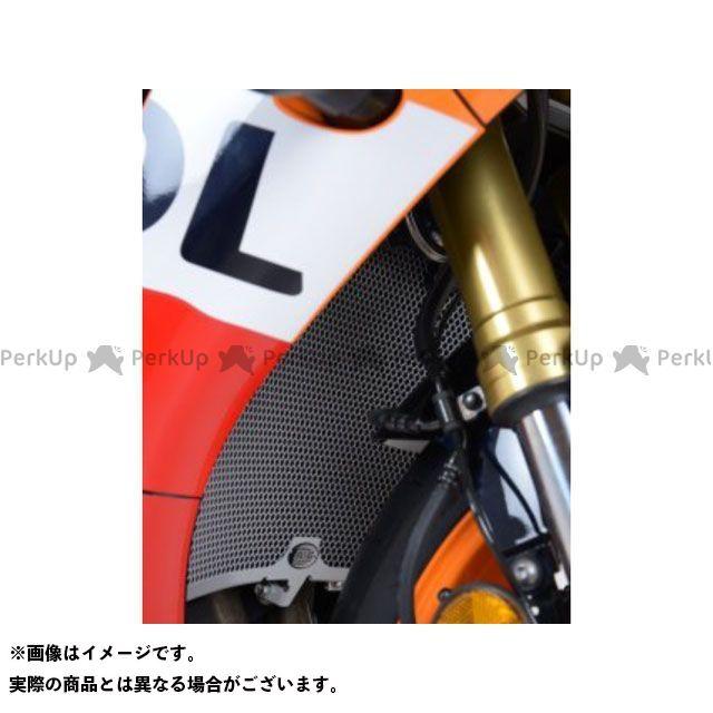 送料無料 R&G CBR600RR ラジエター関連パーツ ラジエターガード チタン
