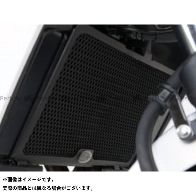 送料無料 R&G 400X CB400F ラジエター関連パーツ ラジエターガード(ブラック)
