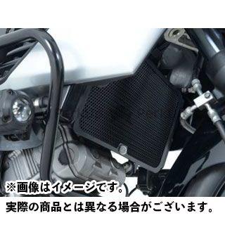 送料無料 R&G Vストローム1000 ラジエター関連パーツ ラジエターガード ブラック