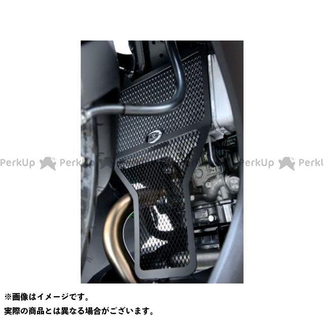 送料無料 R&G YZF-R125 ラジエター関連パーツ ラジエターガード ブラック
