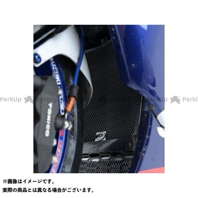 送料無料 R&G GSX-R1000 ラジエター関連パーツ ラジエター&オイルクーラーガードセット ブラック