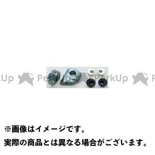 送料無料 アントライオン ZRX1100 ZRX1200R ハンドル周辺パーツ S.T.Fクランプ シルバー