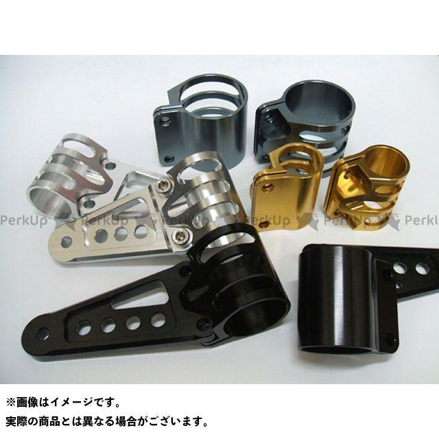 アントライオン 汎用 ビレットライトステー ミニ用 φ31 ロングタイプ カラー:ブラック ant lion
