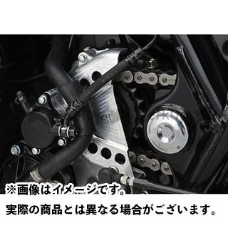 ヤマモトレーシング CB1300スーパーフォア(CB1300SF) CB1300SF SPEC-A スプロケットカバー カラー:シルバー YAMAMOTO RACING