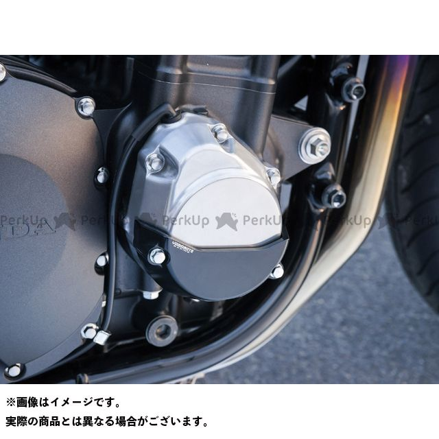 ヤマモトレーシング CB1300スーパーボルドール CB1300スーパーフォア(CB1300SF) ~13CB1300SFエンジンプロテクターセット ブラック YAMAMOTO RACING