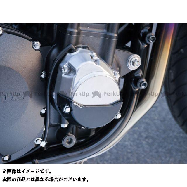 ヤマモトレーシング CB1300スーパーボルドール CB1300スーパーフォア(CB1300SF) エンジンカバー関連パーツ ~13CB1300SFエンジンプロテクターセット シルバー