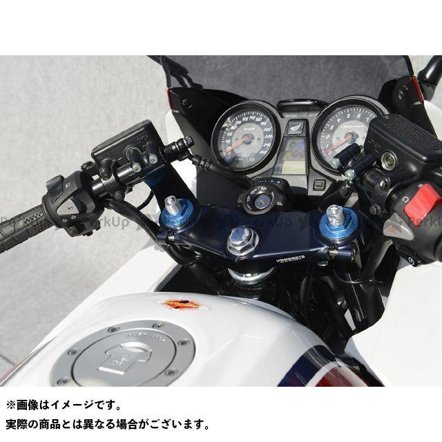 ヤマモトレーシング CB1300スーパーボルドール CB1300スーパーフォア(CB1300SF) 03~CB1300SF/SB用セパハン・トップブリッジ2点セット ストリート カラー:ブラックアルマイト YAMAMOTO RACING