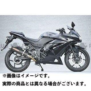 ヤマモトレーシング ニンジャ250R マフラー本体 NINJA250R SPEC-A ステンレス2-1 カーボンサイレンサー