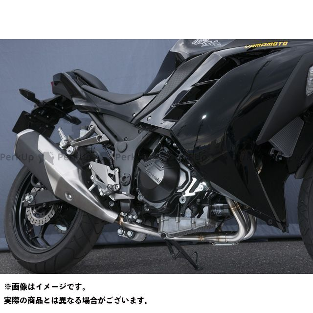 ヤマモトレーシング ニンジャ250 マフラー本体 Ninja250 SPEC-A EX ASSY