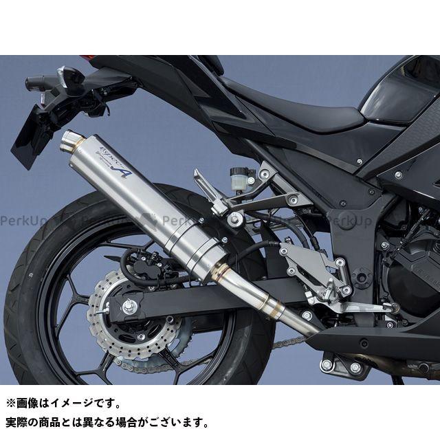 ヤマモトレーシング ニンジャ250 Ninja250 SPEC-A SLIP-ON 仕様:チタン YAMAMOTO RACING