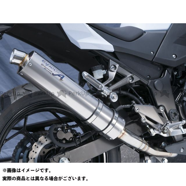 ヤマモトレーシング Z250 Z250 SPEC-A SLIP-ON 仕様:チタン YAMAMOTO RACING