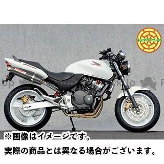 【エントリーで更にP5倍】ヤマモトレーシング ホーネット HORNET250 SPEC-A ステンレス4-1カーボンサイレンサー(触媒付き) YAMAMOTO RACING